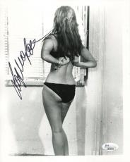 SOPHIA LOREN HAND SIGNED 8x10 PHOTO+COA        VERY SEXY POSE FROM BEHIND    JSA