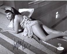 SOPHIA LOREN HAND SIGNED 8x10 PHOTO+COA       YOUNG+SEXIEST POSE   SEXY BEHIND