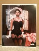 SOPHIA LOREN HAND SIGNED OVERSIZED 11x14 PHOTO    SEXY ACTRESS    TO JOHN    JSA