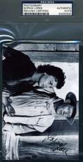 SOPHIA LOREN Hand Signed PSA DNA Photo John Wayne Autographed Authentic