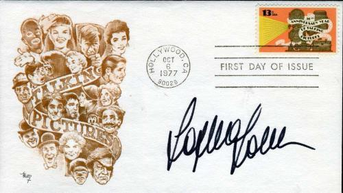 Sophia Loren Hand Signed Psa/dna Coa Fdc Authenticated Autograph
