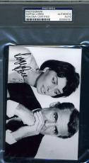 Sophia Loren Hand Signed Psa/dna Coa Photo Authentic Autograph Cary Grant