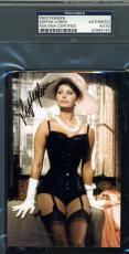 Sophia Loren Hand Signed Psa/dna Photo Authentic Autograph