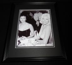 Sophia Loren & Jayne Mansfield Framed 8x10 Photo Poster