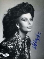 Sophia Loren Jsa Certified Hand Signed 8x10 Photo Authenticated Autograph
