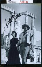 Sophia Loren Jsa Coa Hand Signed 4x6 Photo Authenticated Autograph 1