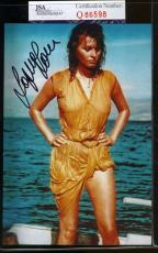 Sophia Loren Jsa Coa Hand Signed 4x6 Photo Authenticated Autograph 8
