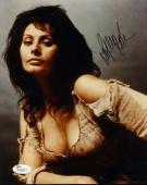Sophia Loren Jsa Hand Signed 8x10 Photo Authentic Autograph