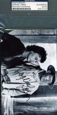 SOPHIA LOREN PSA DNA Coa Hand Signed Photo John Wayne Autograph
