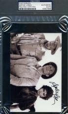 Sophia Loren Psa/dna Coa Hand Signed 4x6 Photo John Wayne Authentic Autograph