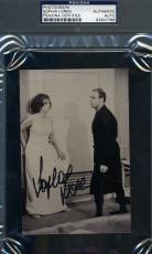 Sophia Loren Psa/dna Coa Hand Signed 4x6 Photo Marlon Brando Autograph