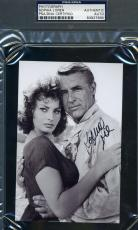 Sophia Loren Psa/dna Signed 4x6 Photo Authentic Autograph