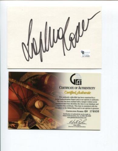 Sophia Loren Sexy Two Women El CID Oscar Winner Signed Autograph COA