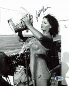 Sophia Loren Sexy Signed 8x10 Photo Autographed BAS #B91110