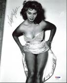 Sophia Loren Sexy Signed 8X10 Photo Autographed PSA/DNA #AA42567