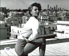 Sophia Loren Sexy Signed 8X10 Photo Autographed PSA/DNA #AA82568