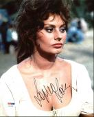Sophia Loren Sexy Signed 8X10 Photo Autographed PSA/DNA #AC17203