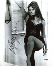Sophia Loren Sexy Signed 8X10 Photo Autographed PSA/DNA #AC45216