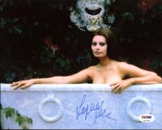 Sophia Loren Sexy Signed 8X10 Photo Autographed PSA/DNA #Z91038