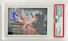 Sophia Loren SEXY VINTAGE ACTRESS Signed 2x3 Photo Card PSA/DNA Slabbed #4