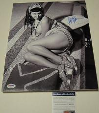 Sophia Loren Signed 11x14 Photo Dry Mounted And Ready For Framing Psa/dna T60211