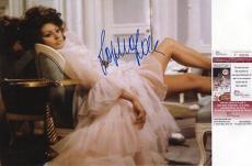 Sophia Loren Signed 11x14 Photo JSA COA Autograph