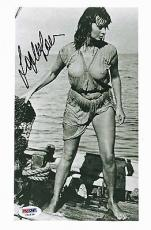 "Sophia Loren Signed 6.5""x10"" Photo Sexy Bombshell Psa/dna Authenticated U52538"