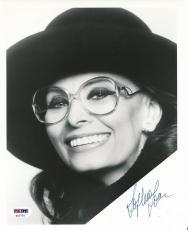 Sophia Loren Signed 8x10 Photo Autograph Auto PSA/DNA Z11732