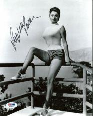 Sophia Loren Signed 8X10 Photo Autographed PSA/DNA #AA28833