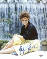 Sophia Loren Signed 8X10 Photo Autographed PSA/DNA #Y87096