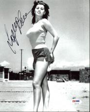 Sophia Loren Signed 8X10 Photo Autographed PSA/DNA #Z92179