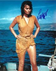 Sophia Loren Signed Authentic Autographed 11x14 Photo (PSA/DNA) #S23277