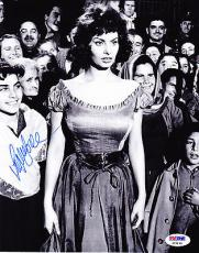 Sophia Loren Signed Auto 8x10 Photo PSA DNA COA