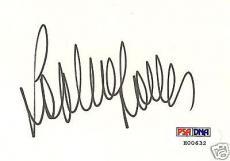 Sophia Loren Signed Auto'd RARE Index Card PSA/DNA COA