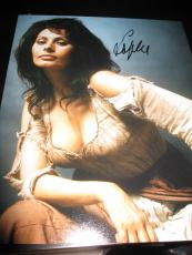 SOPHIA LOREN SIGNED AUTOGRAPH 8x10 HOLLYWOOD LEGEND ITALIAN ACTRESS RARE COA C
