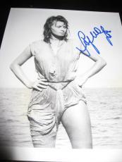 SOPHIA LOREN SIGNED AUTOGRAPH 8x10 HOLLYWOOD LEGEND ITALIAN ACTRESS RARE COA G