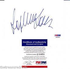 Sophia Loren signed autographed card FAMOUS 50's 60's ACTRESS Model PSA DNA COA