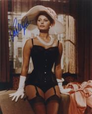 Sophia Loren Signed Autographed Hot Sexy Color Photo Wow!!!