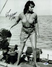 Sophia Loren Signed Boy on a Dolphin Autographed 11x14 Photo PSA/DNA #AA29627