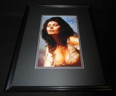 Sophia Loren Signed Framed 11x14 Photo Poster JSA