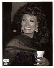Sophia Loren Signed Photo - JSA Authenticated