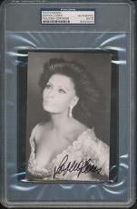Sophia Loren Signed Photograph PSA/DNA Certified Authentic Auto Autograph *3253
