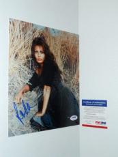 Sophia Loren Signed Rare! In-person 8x10 Photo Autographed Psa/dna Cert!