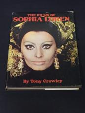 Sophia Loren The Films Of Rare Signed Autograph 1st Edition Coffee Table Book