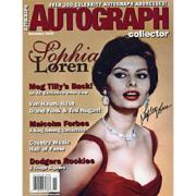 Sophie Loren Autographed Celebrity 8x10 Photo