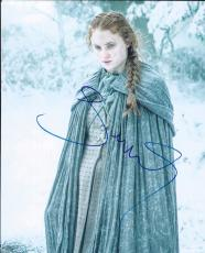 Sophie Turner Signed Autographed 8x10 Photo Game of Thrones Sansa Stark Sexy B6
