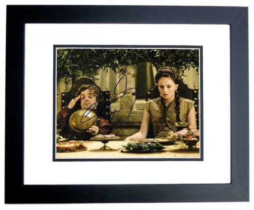 Sophie Turner Signed - Autographed Game of Thrones 8x10 inch Photo BLACK CUSTOM FRAME - Guaranteed to pass PSA or JSA - Sansa Stark