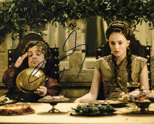 Sophie Turner Signed - Autographed Game of Thrones 8x10 inch Photo - Guaranteed to pass PSA or JSA - Sansa Stark