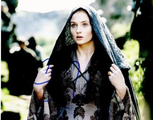 Sophie Turner Signed - Autographed Game of Thrones Actress 8x10 inch Photo - Guaranteed to pass PSA or JSA - Sansa Stark