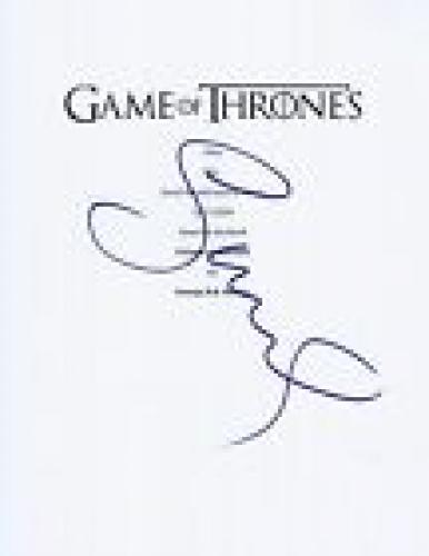 Sophie Turner Signed Autographed Game of Thrones Full Pilot Episode Script